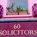 60 solicitors and two pink dragons