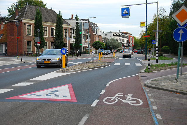 My bike ride home: new safe junction