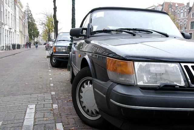 Saab and Mercedes
