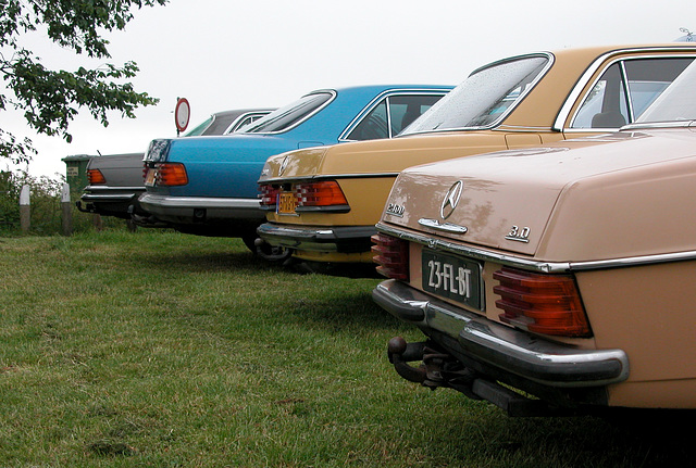 Four different Benzes