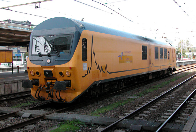 Measuring train in the Netherlands