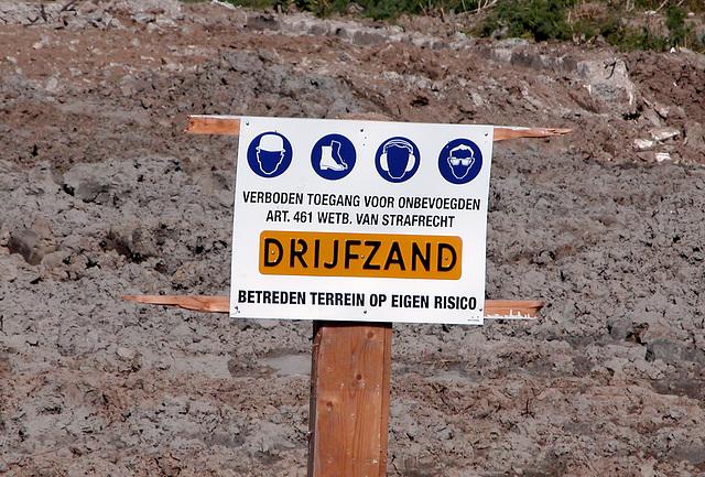 Danger: Quicksand