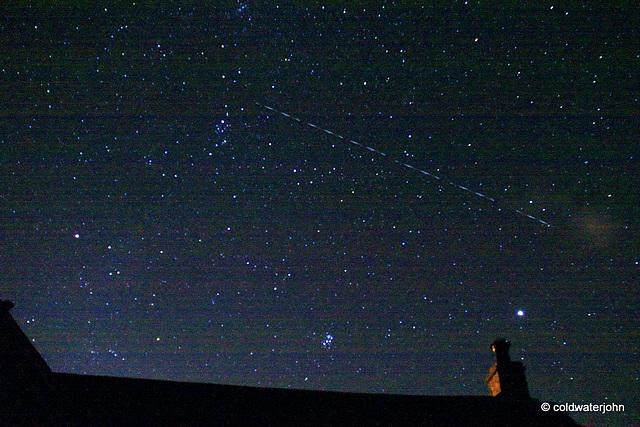 Starry, starry, night....shooting star