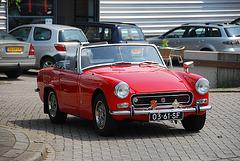 Industrie motorendag 2008: 1972 MG Midget mk III