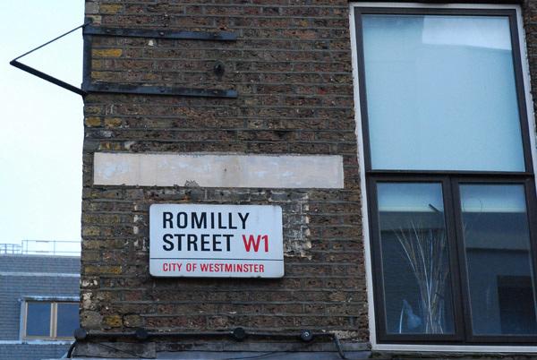 Romilly Street W1