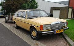 Industrie motorendag 2008: 1980 Mercedes-Benz 300 TD