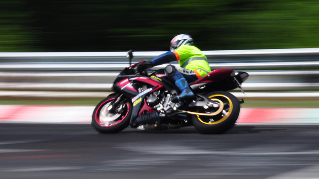 Nordschleife weekend – Bike in the corner