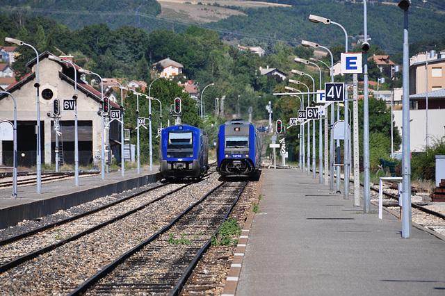 Holiday 2009 – Local trains at Gap, France
