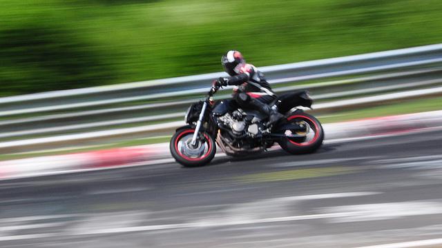 Nordschleife weekend – Bike at speed