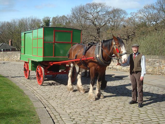 SS 18 - BM CV 4 horse drawn move