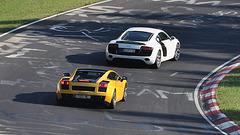 Nordschleife weekend – Lamborghini and Audi