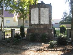Denkmal 1. und 2.Weltkrieg Motzen