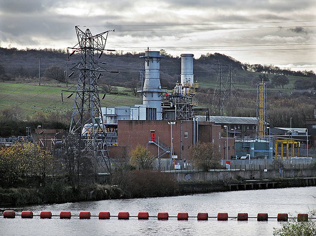 Natural Gas Stations >> ipernity: Thornhill CCGT Power Station - by tarboat