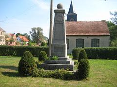 Denkmal Weltkriege Neuhof bei Jüterbog