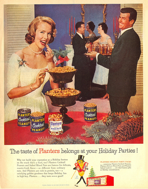 The taste of Planters at your Holiday Parties!