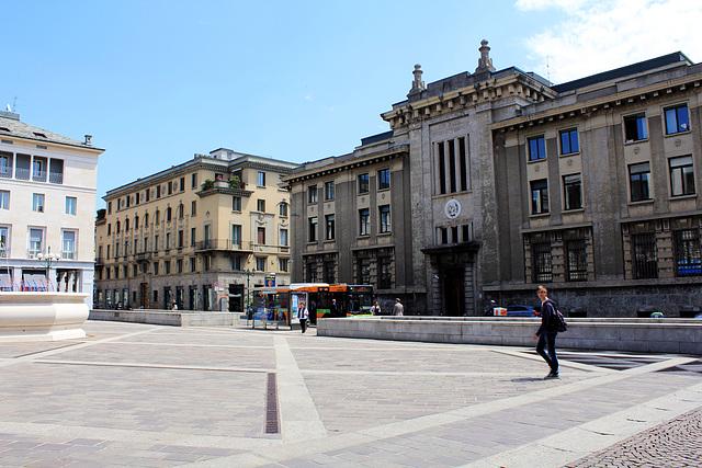 Piazza della Liberta,  Bergamo