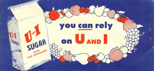 U and I sugar canning booklet