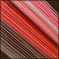 Red and Black Leaf Abstract