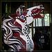 Carousel Horse: Pinto Beauty