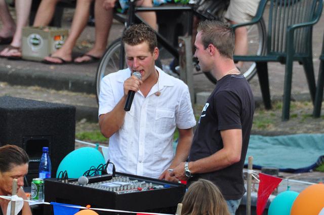 Peurbakkentocht: Singing