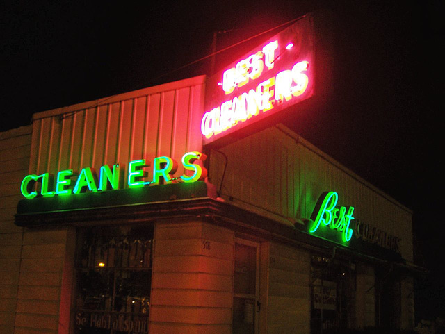 Best Cleaners at night