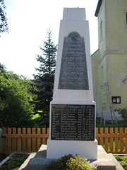 Denkmal Weltkriege Ließen
