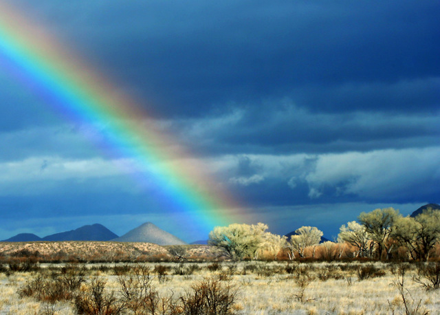 Rainbow and Tombstone Hills
