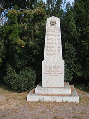 Denkmal Weltkriege Schönhagen