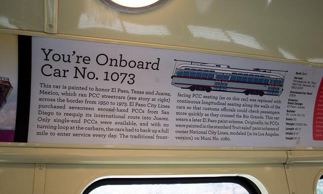SF Embarcadero: Historic El Paso trolley (0248)