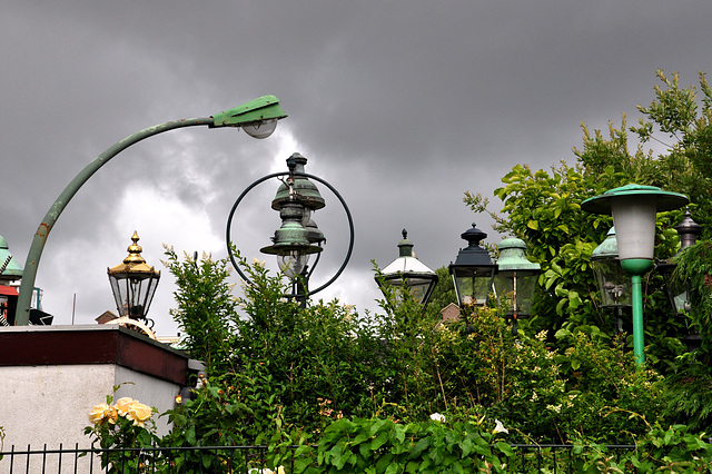 Lamppost collector