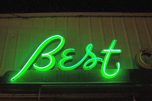 Some of the best neon in town!