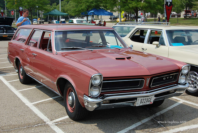 GTO puts the Go in a Wagon