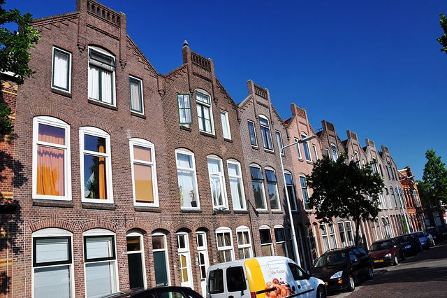 Koningstraat (King Street) in Leiden