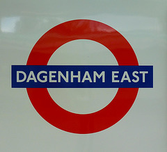 dagenham east tube station, essex