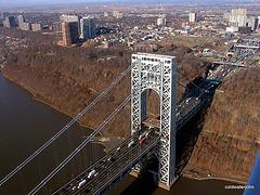 George Washington Bridge - Aerial