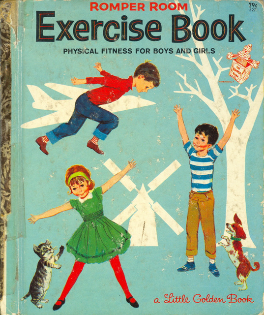 Romper Room Exercise Book