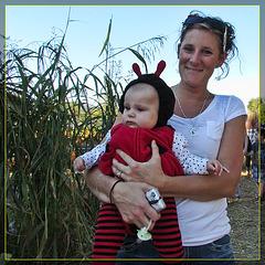 Mom and Ladybug Baby