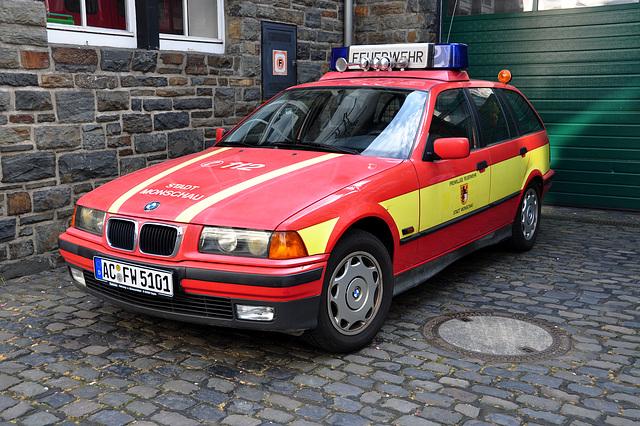 Nordschleife weekend – BMW of the Fire Department in Monschau