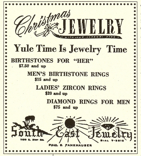 South East jewelry ad