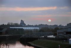 Winnington sunset