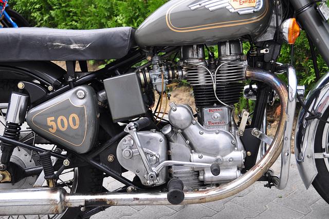 Nordschleife weekend – Retro Royal Enfield motorcycle