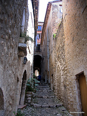 St Paul de Vence, Provence, French Riviera, one of the most beautiful small and ancient villages, and erstwhile colony for some of the world's most famous painters.