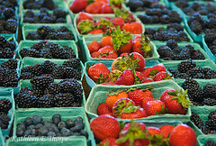 Summer Berries - Coates Brothers Produce in the Asheville, NC Farmers' Market