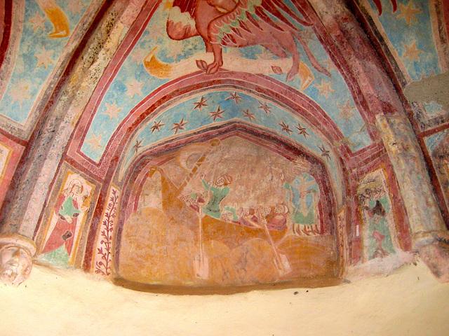 Deckenmalerei im Karner