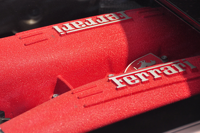 Nordschleife weekend – Ferrari engine