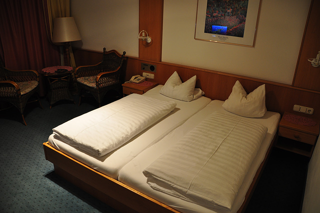 Holiday 2009 – Hotel room in Austria