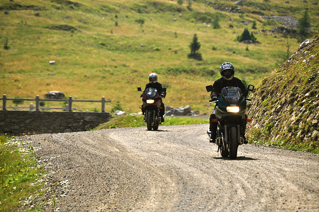 Holiday 2009 – Bikers on the Umbrail Pass