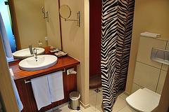 Holiday 2009 – Bathroom in a hotel in Sinsheim