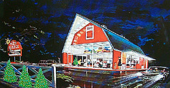 """Red Barn"" fast food restaurant"