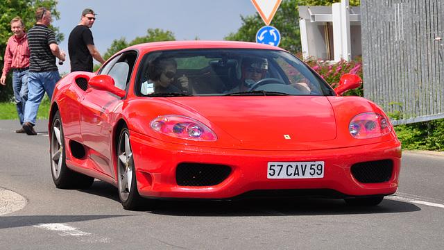 Nordschleife weekend – Red Ferrari